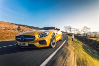 Free Mercedes AMG GT Picture for Samsung Galaxy Tab 4