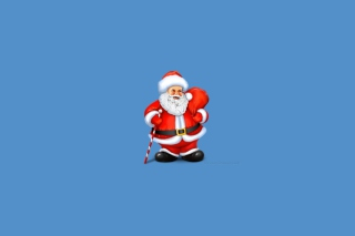 Santa Claus Illustration Picture for Android, iPhone and iPad