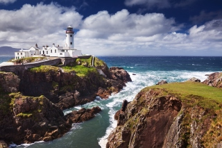 Fanad Ireland Lighthouse Wallpaper for Android 480x800