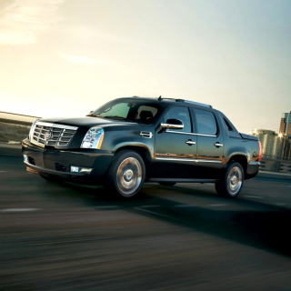 Cadillac Escalade EXT Pickup Truck Wallpaper for iPad 2