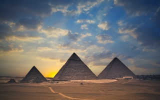 Egypt Pyramids Wallpaper for Android, iPhone and iPad