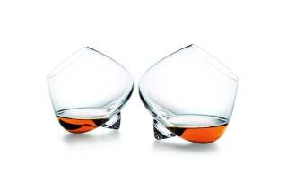 Cognac Glasses Background for Android, iPhone and iPad