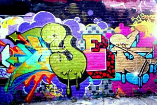 Yes Graffiti Picture for Android, iPhone and iPad