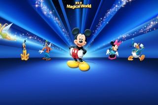 Magical Disney World Background for Android, iPhone and iPad