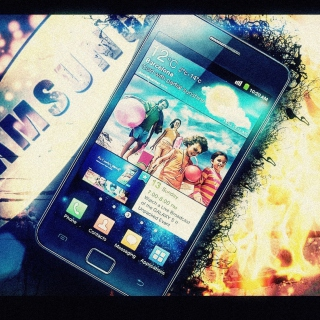 Samsung Galaxy S2 Background for iPad 3
