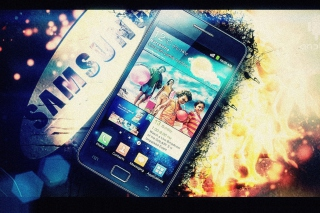 Samsung Galaxy S2 Background for Android, iPhone and iPad