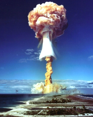 Nuclear Explosion Background for Nokia C-5 5MP
