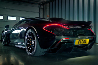 Free McLaren P1 Picture for Android, iPhone and iPad