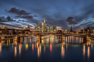 Frankfurt Wallpaper for Android, iPhone and iPad