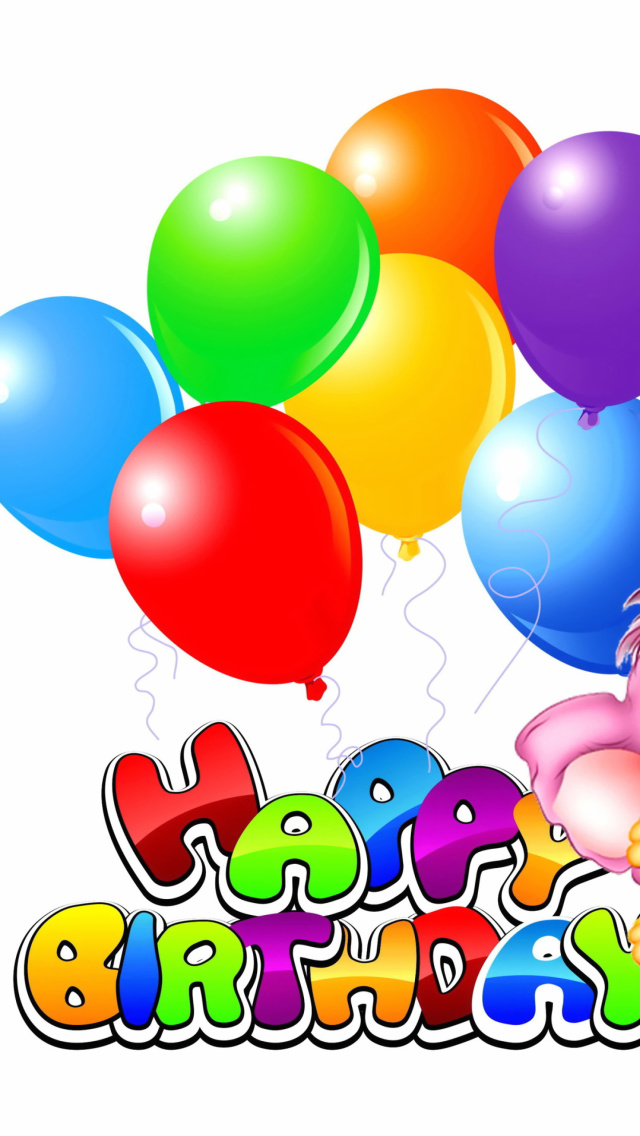Screenshot №1 pro téma Happy Birthday 640x1136