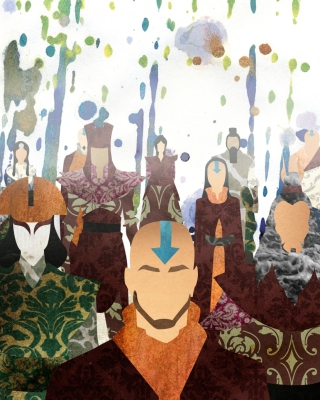 Kostenloses Avatar The legend of Korra Wallpaper für Nokia C1-01