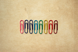 Paper Clips Background for Android, iPhone and iPad