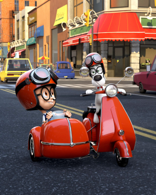 Free Mr Peabody & Sherman Picture for iPhone 6 Plus