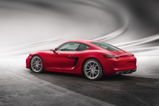 Porsche Cayman GTS Background for Android, iPhone and iPad