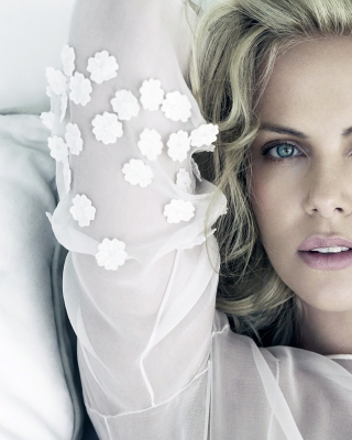 Charlize Theron Background for Nokia X2-02
