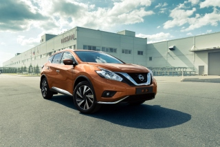 Nissan Murano 2017 Background for Android, iPhone and iPad