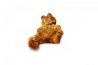 Free Lazy Garfield Picture for Android, iPhone and iPad
