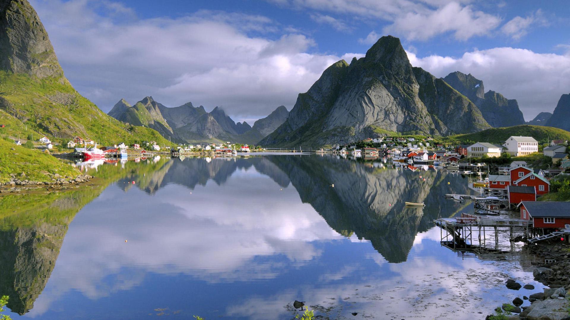 Lofoten Norway Hd Sfondi Gratuiti Per Desktop 1920x1080