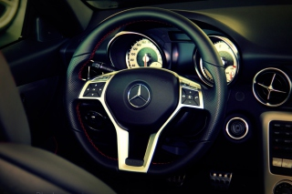 Mercedes Benz Background for Android, iPhone and iPad