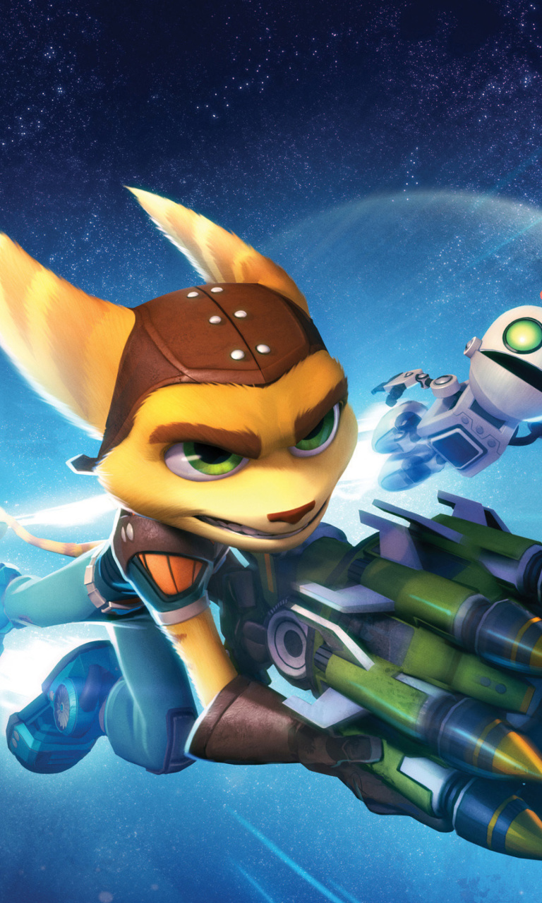 Sfondi Ratchet & Clank Full Frontal Assault 768x1280