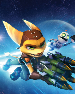 Ratchet & Clank Full Frontal Assault sfondi gratuiti per Nokia Lumia 925