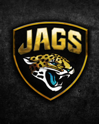 Jacksonville Jaguars NFL Team Logo Background for 640x1136