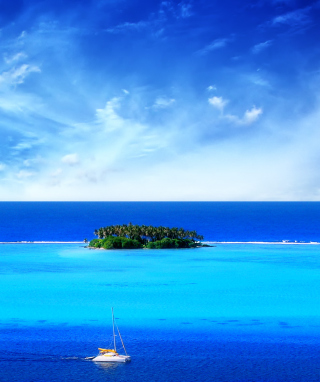 Free Blue Sea & Sky Picture for Nokia C1-01