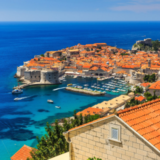 Walls of Dubrovnik Background for iPad mini