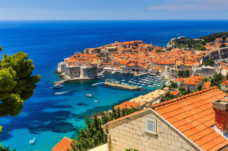 Walls of Dubrovnik sfondi gratuiti per cellulari Android, iPhone, iPad e desktop