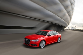 Audi S6 Background for Android, iPhone and iPad
