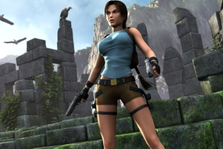 Tomb Raider Lara Croft Background for Android, iPhone and iPad