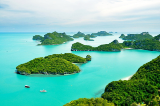 Kostenloses Mu Ko Ang Thong National Park in Thailand Wallpaper für Android, iPhone und iPad