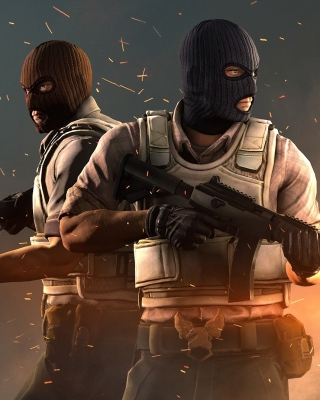 Counter Strike Global Offensive Background for Nokia C2-01