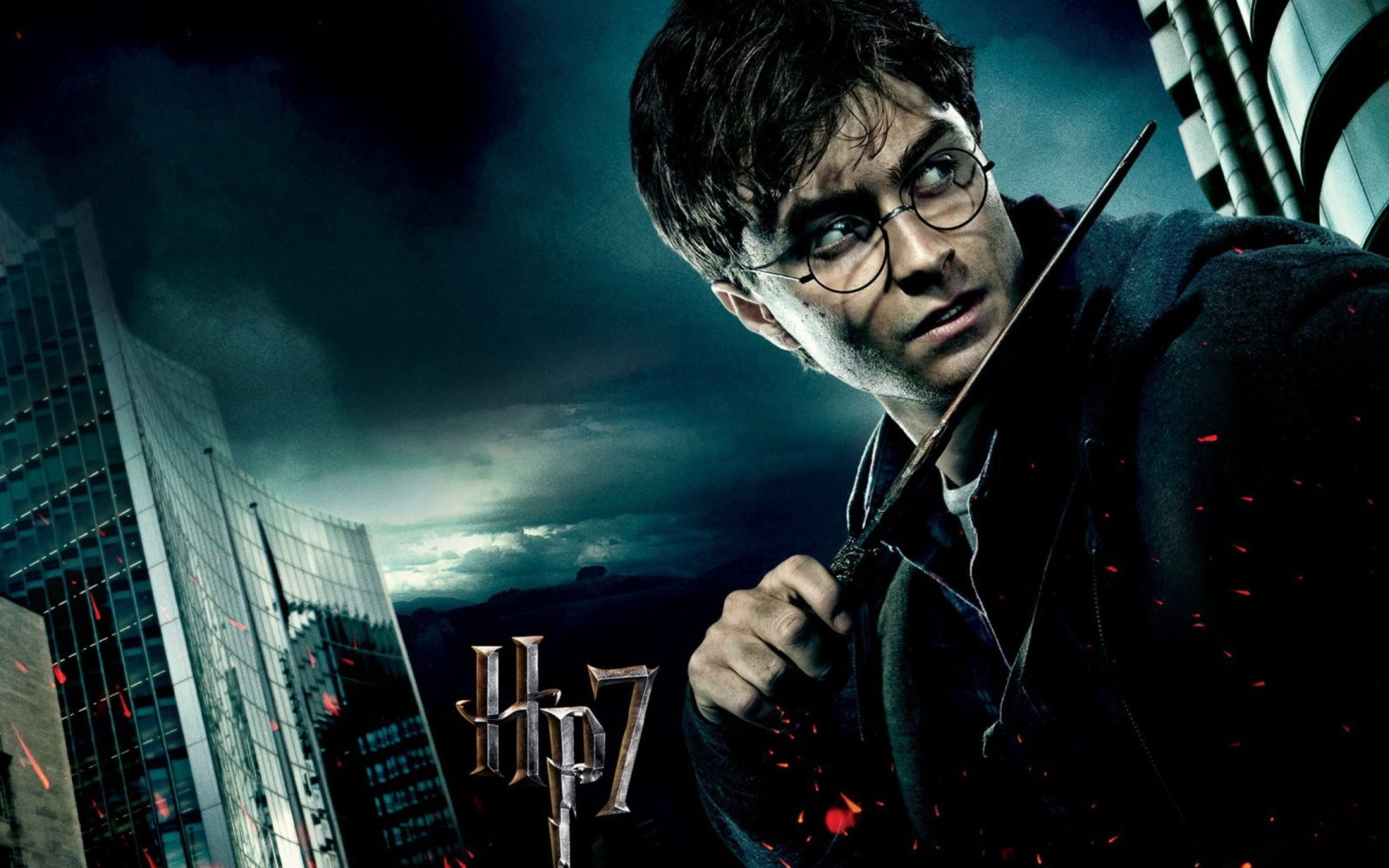Screenshot №1 pro téma Harry Potter And The Deathly Hallows Part-1 1680x1050