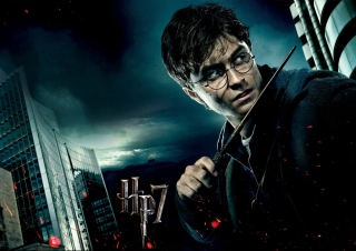 Harry Potter And The Deathly Hallows Part-1 - Obrázkek zdarma pro Samsung Galaxy S6 Active
