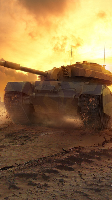 Screenshot №1 pro téma World of Tanks 360x640