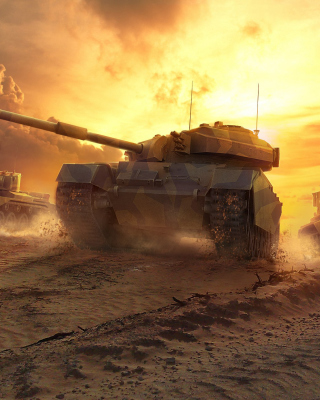 World of Tanks sfondi gratuiti per Nokia 5800 XpressMusic