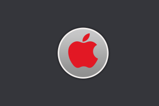 Обои Apple Emblem на Widescreen Desktop PC 1600x900