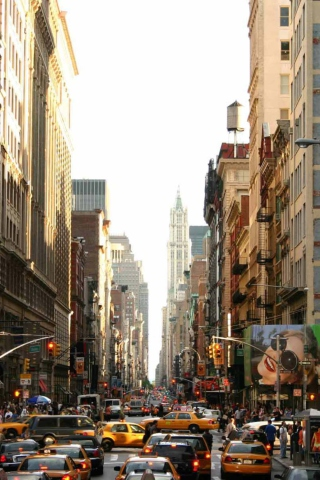 Screenshot №1 pro téma New York Streets 320x480