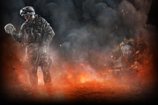 Warface Soldier Background for Android, iPhone and iPad