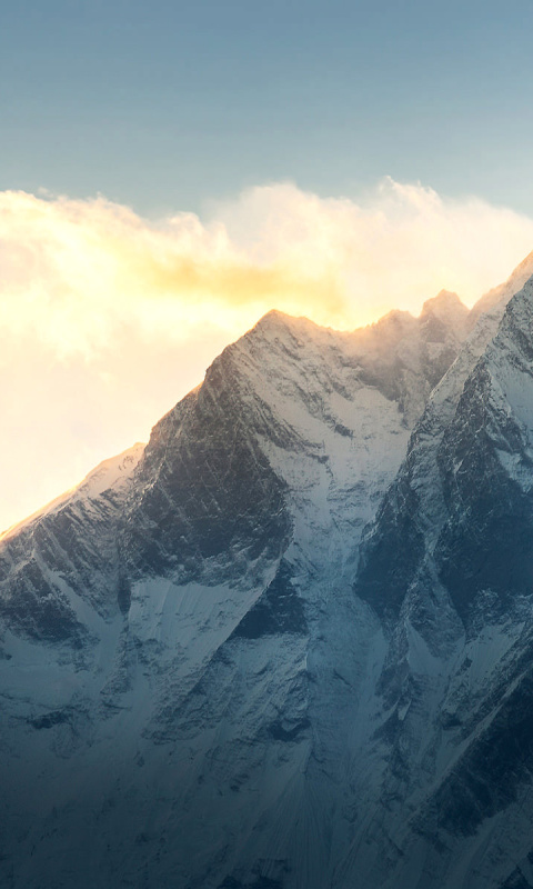 Screenshot №1 pro téma Everest in Nepal 480x800