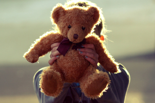 Free I Love My Teddy Picture for Android, iPhone and iPad