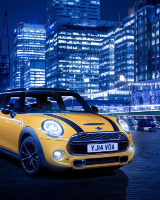 Free Mini Cooper S 2014 Picture for iPhone 6 Plus