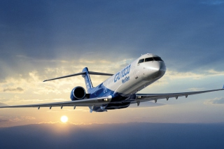 Bombardier Crj 1000 Aircraft Picture for Android, iPhone and iPad