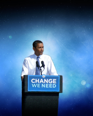 Free USA President Barack Obama Picture for Nokia Asha 311