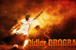 Didier Drogba Wallpaper for Widescreen Desktop PC 1600x900