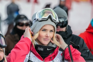 Silje Norendal Norwegian snowboarder Wallpaper for HTC Desire HD