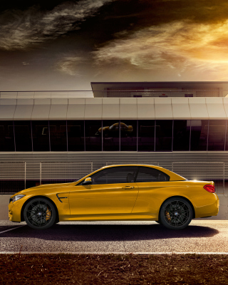 2018 BMW M4 Convertible Wallpaper for iPhone 6 Plus