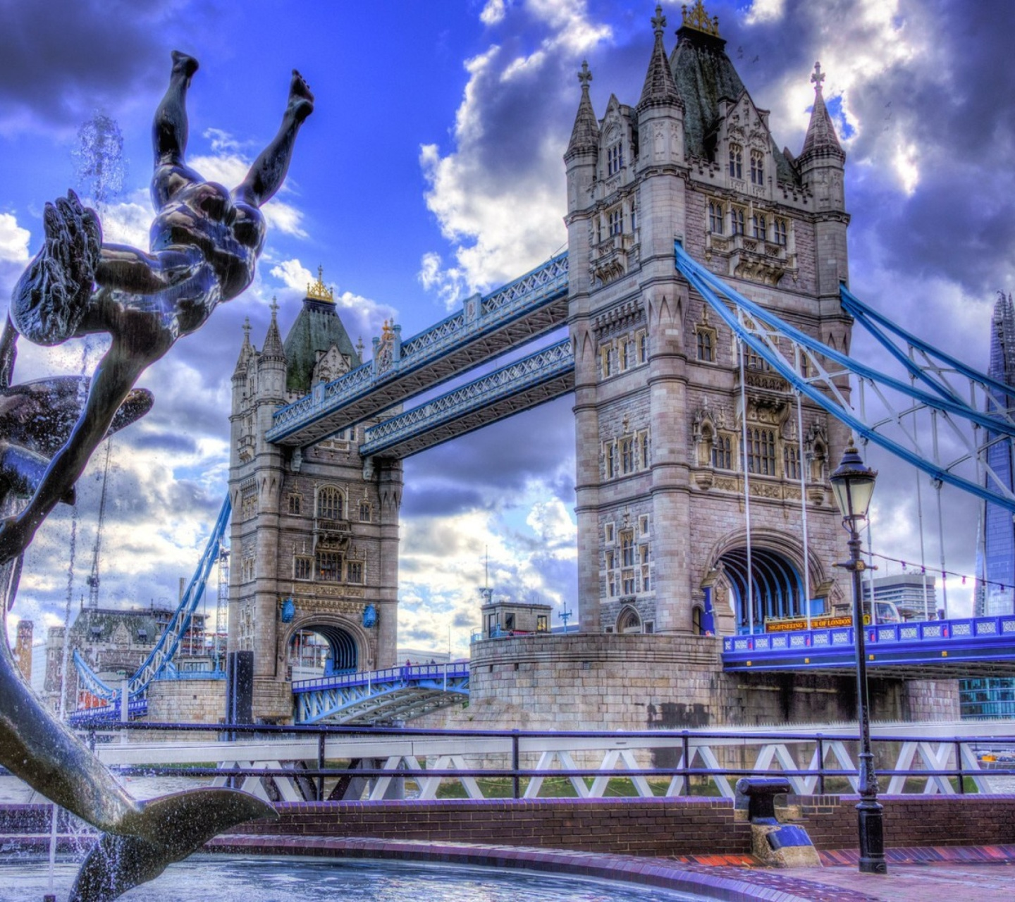 Screenshot №1 pro téma Tower Bridge in London 1440x1280