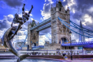 Tower Bridge in London sfondi gratuiti per 1200x1024